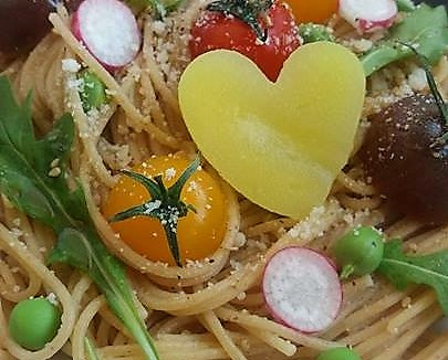Spaghettis aux radis bis