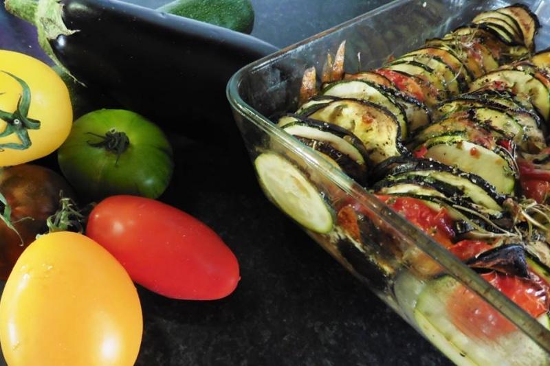 Tian aux légumes provençaux