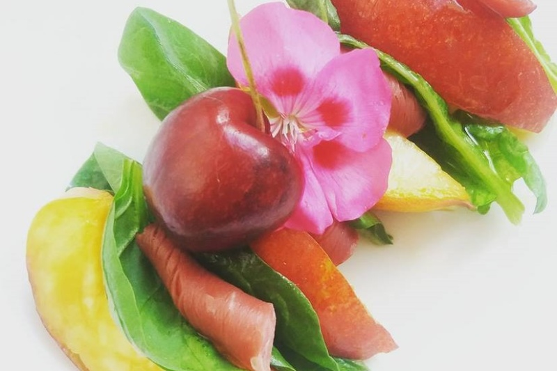 Brochette de canard à la nectarine bis