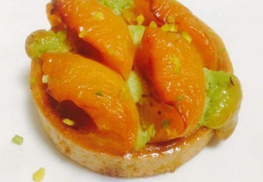 Tartelette abricot amandine