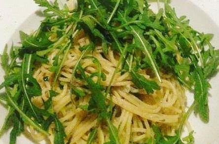 Spaghetti olio e alio