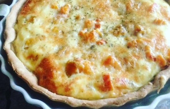 Quiche patate douce